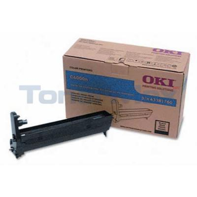 OKIDATA C6000 IMAGE DRUM BLACK